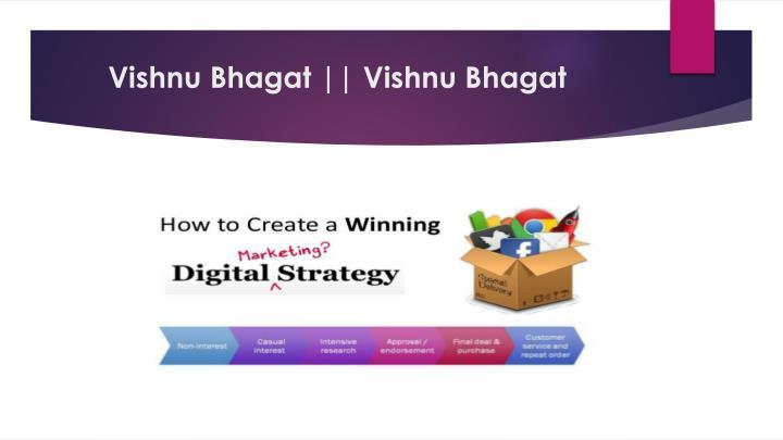 Vishnu Bhagat || Vishnu Bhagat