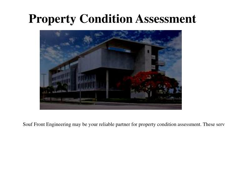 Property Condition Assessment