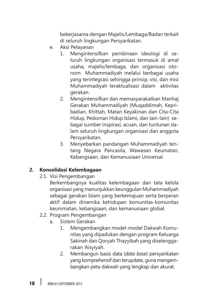 bekerjasama dengan Majelis/Lembaga/Badan terkait