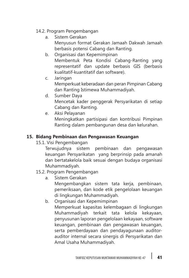 14.2. Program Pengembangan