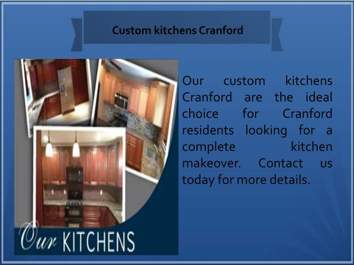 Custom kitchens Cranford