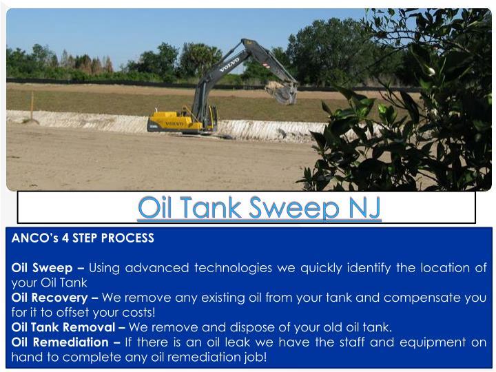 Oil tank sweep nj1