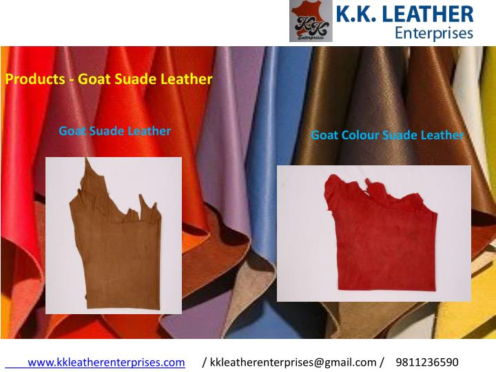 Products - Goat