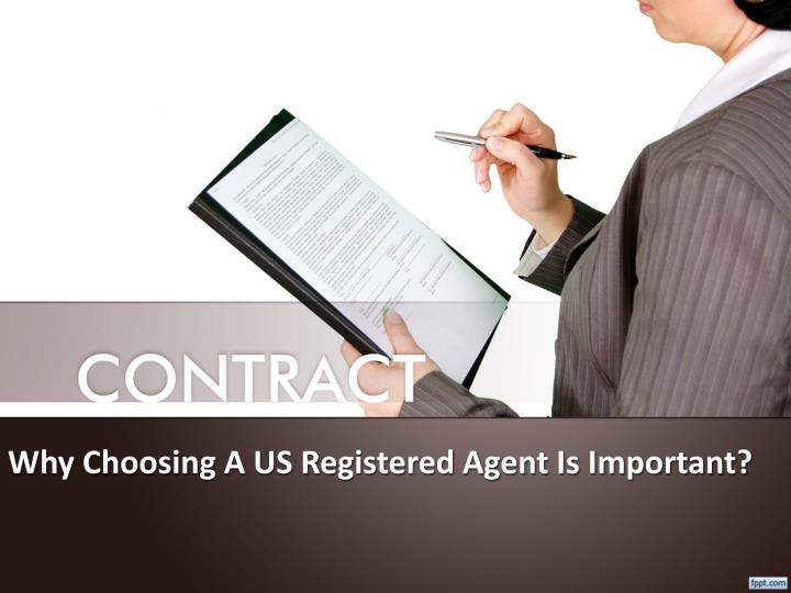 Why choosing a us registered agent is important