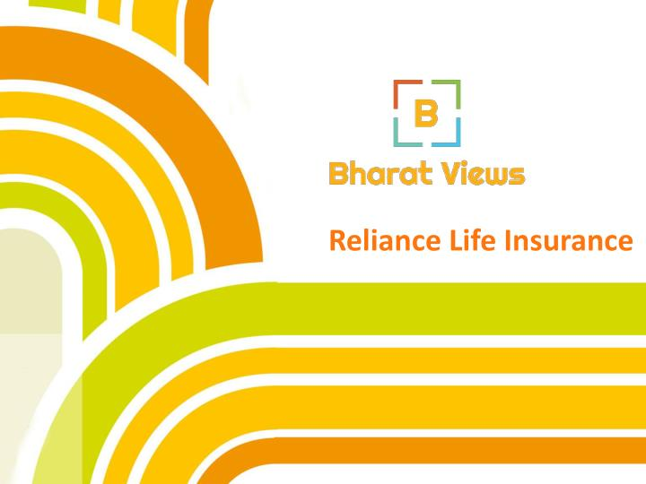 reliance life insurance n.