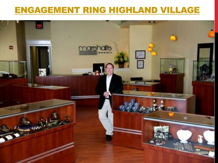 Engagement ring highland village