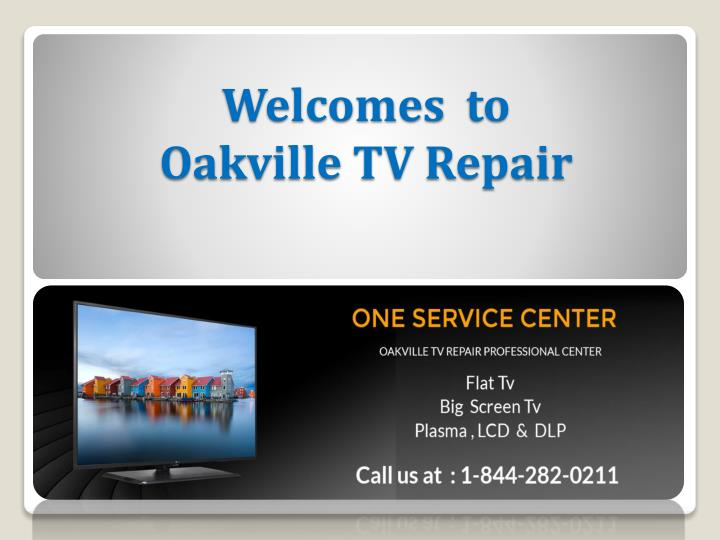 welcomes to oakville tv repair