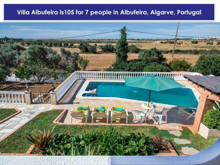 Villa Albufeira ls105 for 7 people in Albufeira, Algarve, Portugal