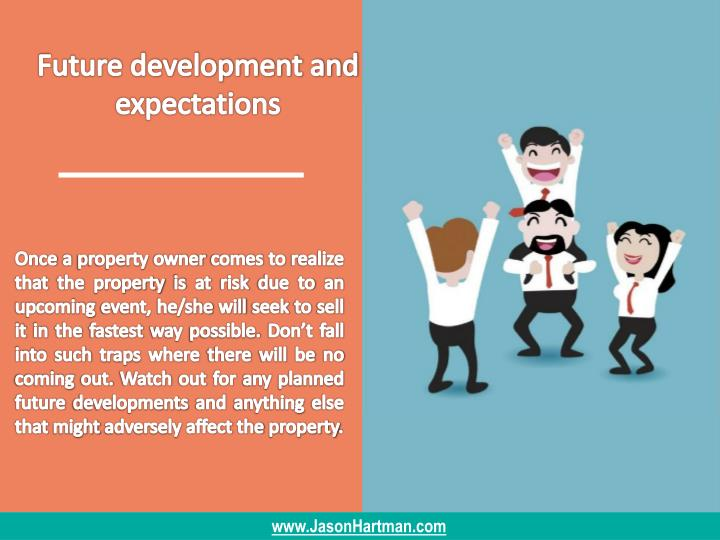 Future development and expectations