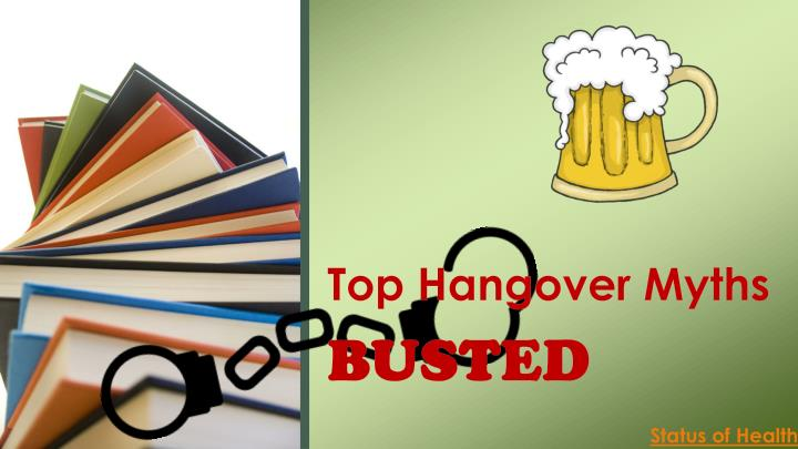 top hangover myths n.