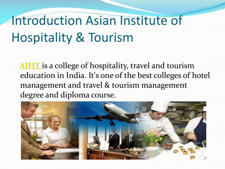 Ppt Hospitality And Tourism Management India Powerpoint
