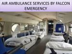 air ambulance services by falcon emergency