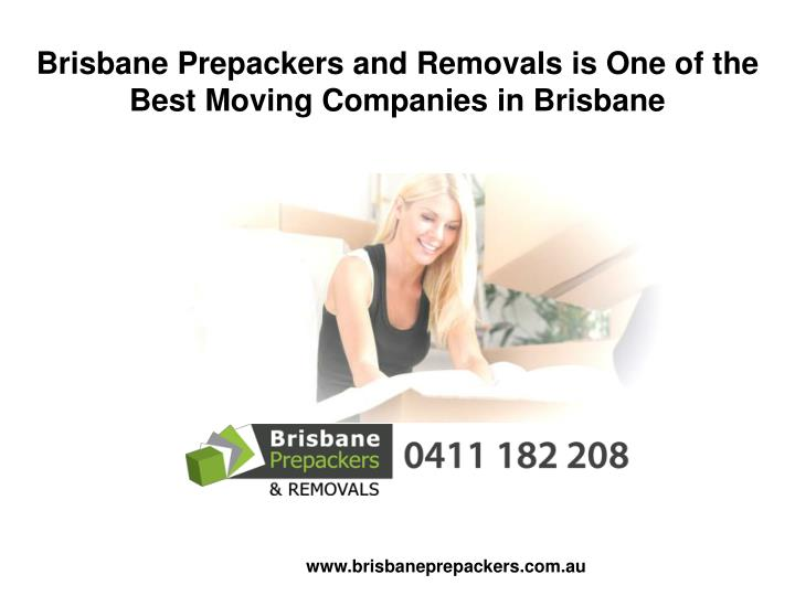 Brisbane Prepackers and Removals is One of the Best Moving Companies in Brisbane