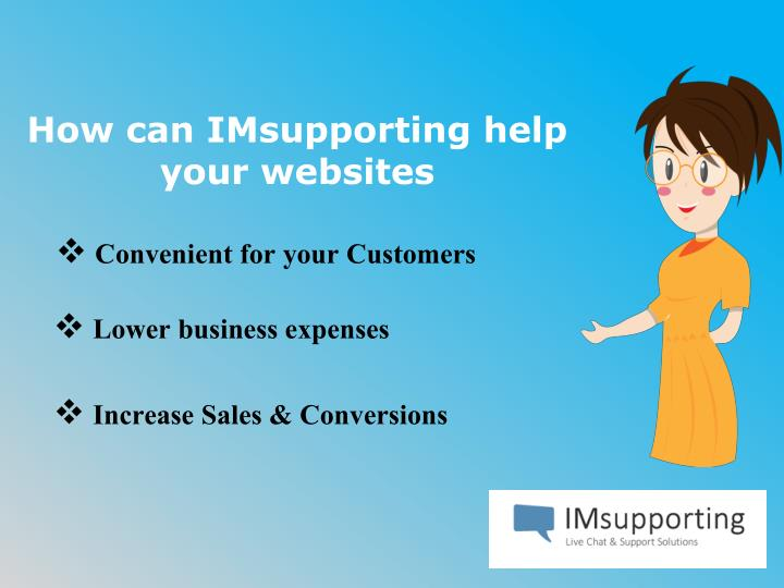 How can imsupporting help your websites