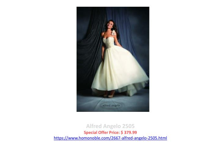 Alfred Angelo 2505
