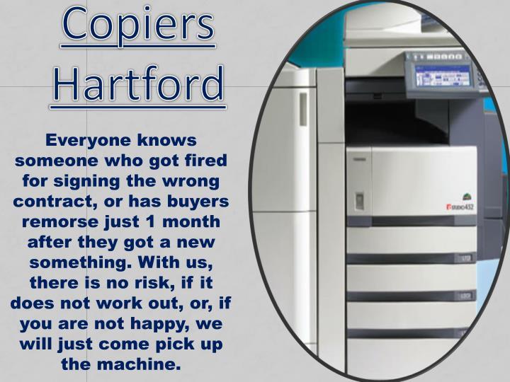 Copiers Hartford