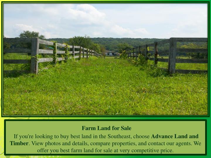Farm Land for