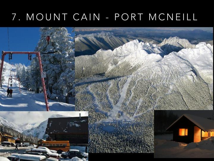 7. MOUNT CAIN - PORT MCNEILL