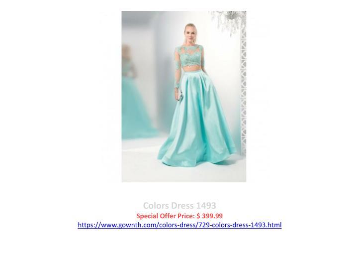 Colors Dress 1493