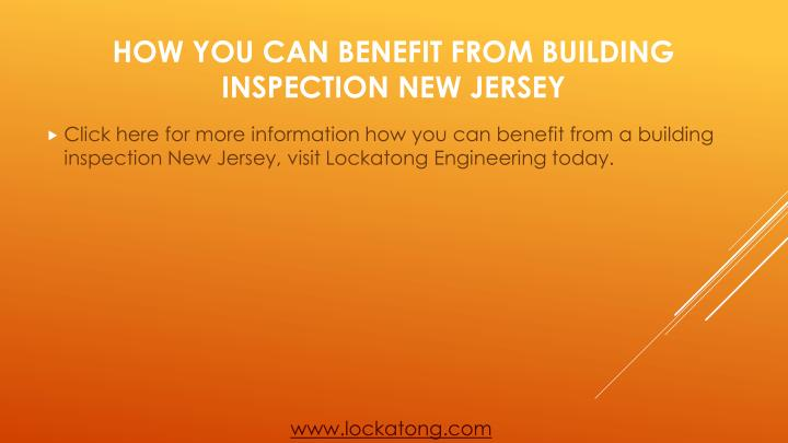 Click here for more information how you can benefit from a building inspection New Jersey, visit