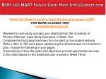 bshs 405 mart future starts here bshs405mart com20
