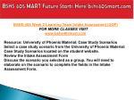 bshs 405 mart future starts here bshs405mart com8
