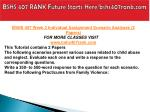 bshs 407 rank future starts here bshs407rank com3