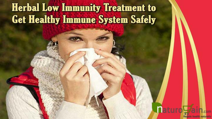 Herbal low immunity treatment to get healthy immune system safely