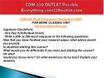 com 220 outlet possible everything com220outlet com19
