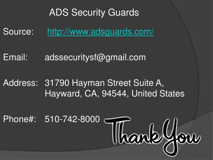 ADS Security Guards