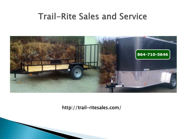 trail rite sales and service n.