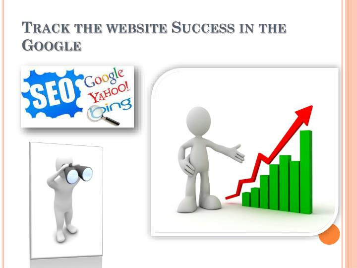 Track the website Success in the Google