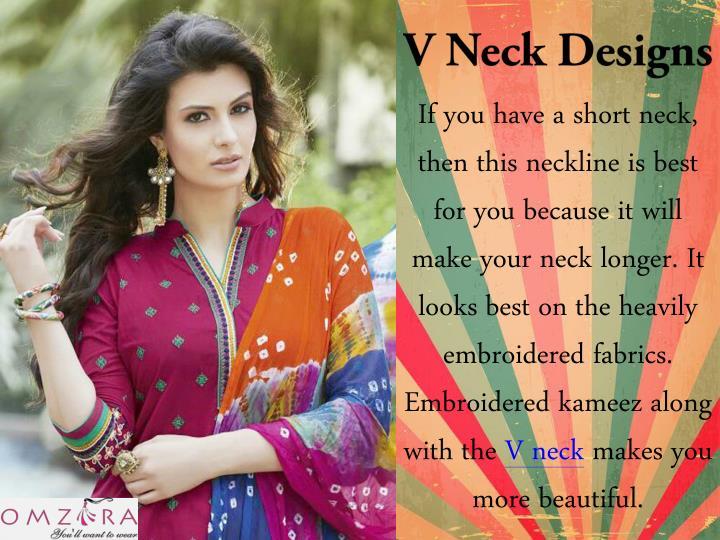 V Neck Designs