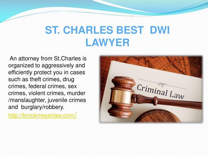 St charles best dwi lawyer