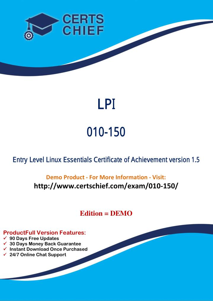 Ppt 010 150 Exam Certification Test Powerpoint Presentation Id
