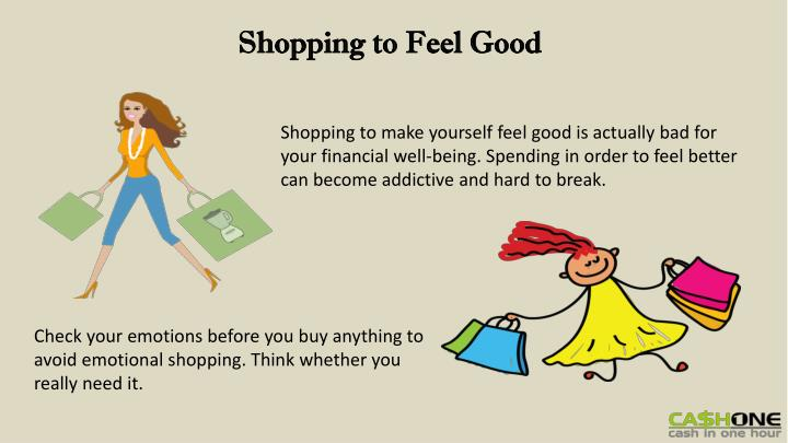 Shopping to Feel Good
