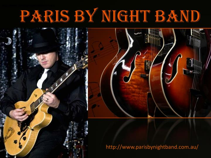 Paris by night band