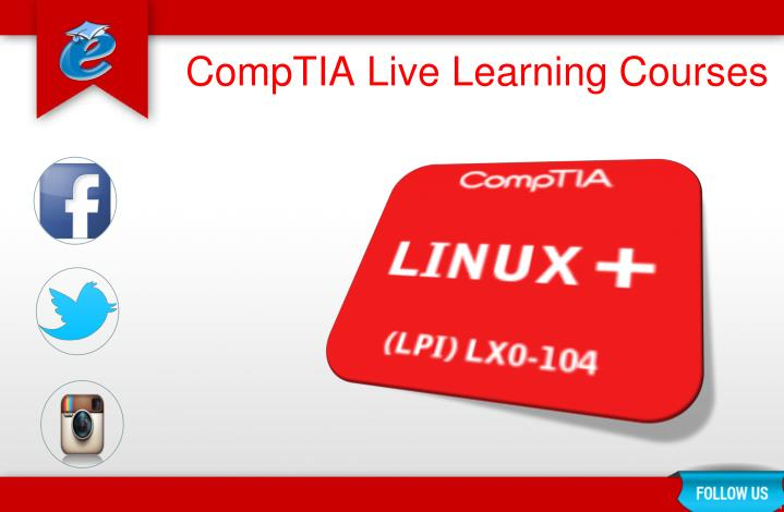 Comptia live learning courses1