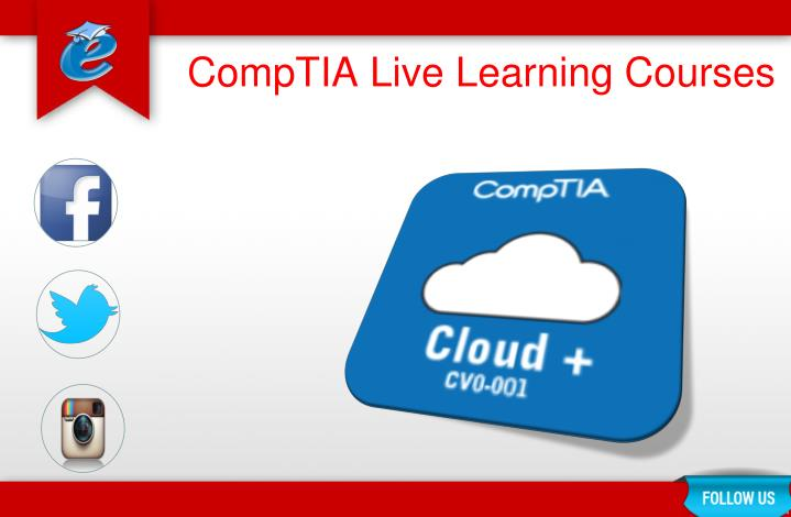 Comptia live learning courses2