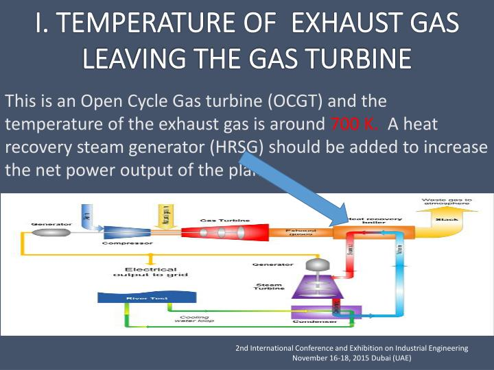 This is an Open Cycle Gas turbine (OCGT) and the