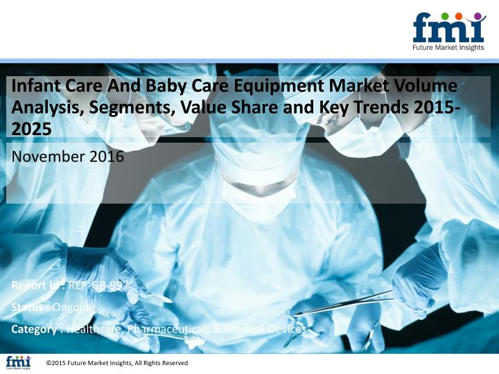 Infant Care And Baby Care Equipment Market Volume