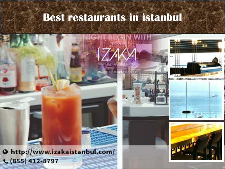 Best restaurants in