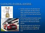 gasoline patrol engine
