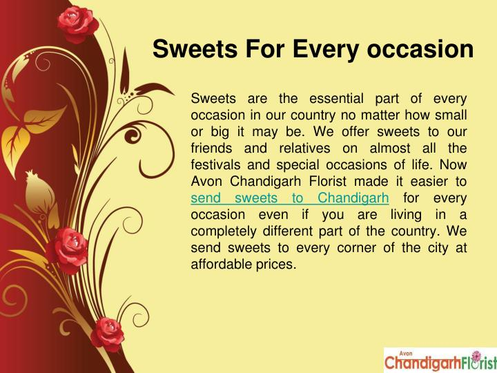 Sweets For Every occasion