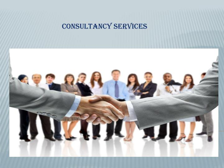 consultancy services n.