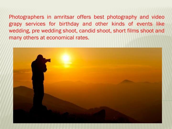 Photographers in