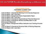 cjs 210 tutor possible everything cjs210tutor com1