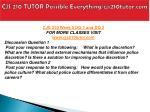 cjs 210 tutor possible everything cjs210tutor com10