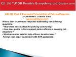 cjs 210 tutor possible everything cjs210tutor com9