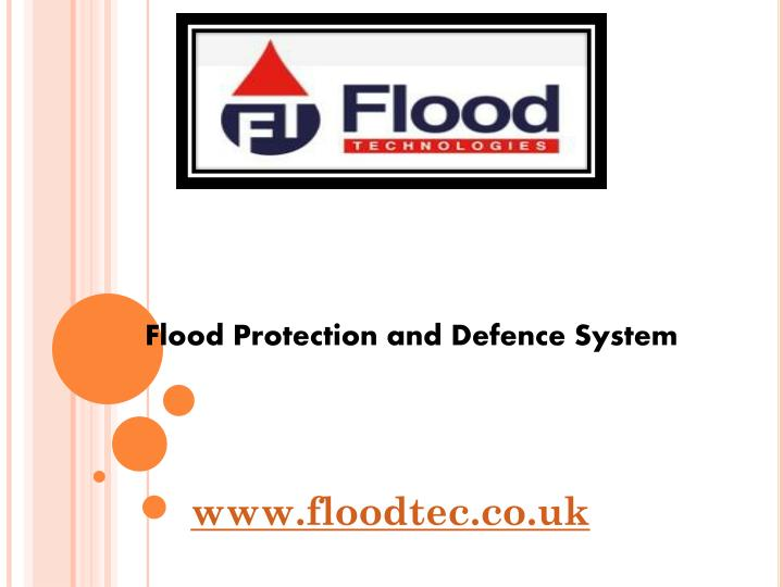 Flood Protection and